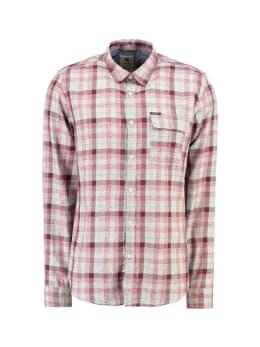 garcia overhemd met ruitprint g91028 rood