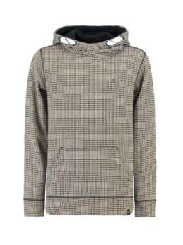 garcia geruite hoodie J93670 oranje