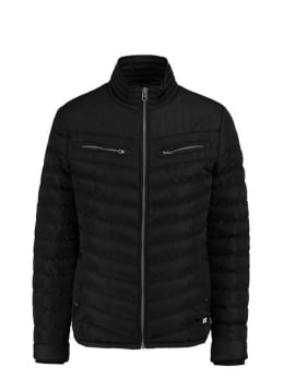 cars borchan puffer jas zwart