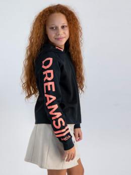 garcia hoodie met opdruk gs020100 zwart
