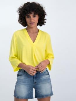 garcia tuniek blouse gs000131 geel