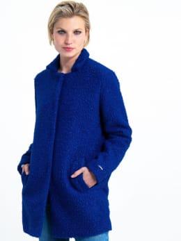 garcia mantel jas gj900909 blauw
