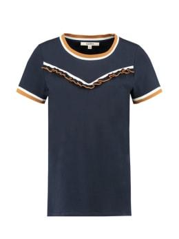 garcia t-shirt korte mouwen C90009 donkerblauw