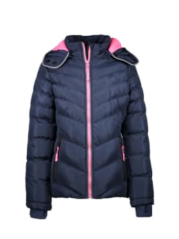 cars puffer jas sophie blauw