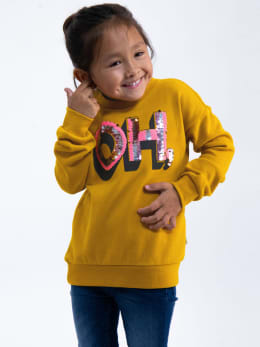 garcia sweater i94461 geel