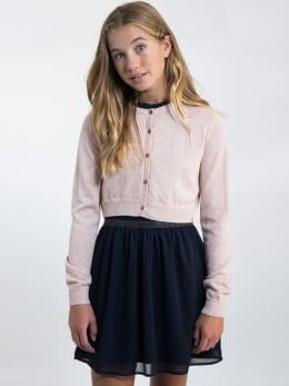garcia cropped vest l92641 roze