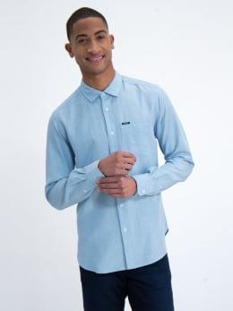 garcia overhemd n01232 blauw