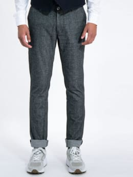 garcia pantalon j91314 grijs