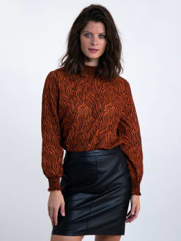 garcia blouse k90031 oranje