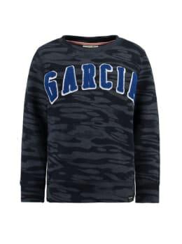 garcia trui h95660 donkerblauw