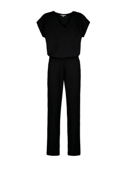 garcia jumpsuit zwart s00113