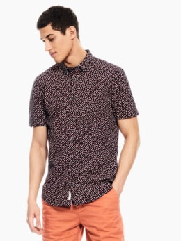 garcia overhemd donkerblauw p01235