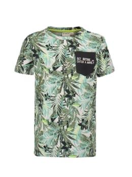 garcia t-shirt wit p05403