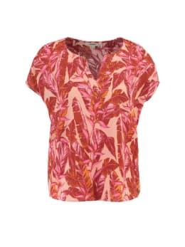 garcia shirt met korte mouw pg900702 multicolor rood