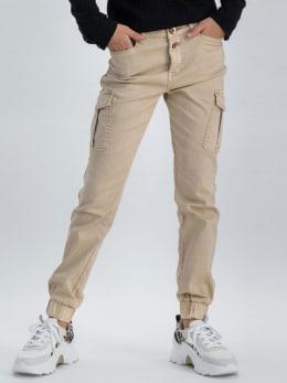 garcia cargobroek m02524 beige