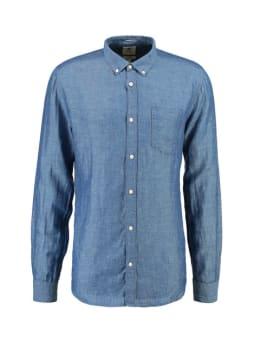 garcia overhemd PG910204 blauw