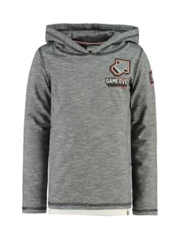 garcia hoodie I95402 grijs