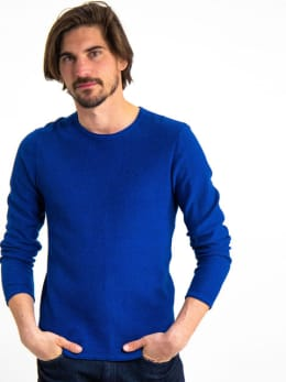garcia trui gs910733 blauw