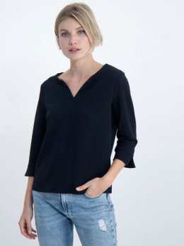 garcia blouse gs000108 donkerblauw