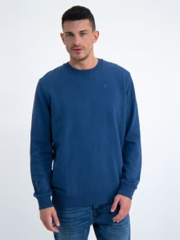 garcia sweater gs010225 donkerblauw
