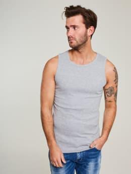 jc basic onderhemd organic cotton jc010006 grijs