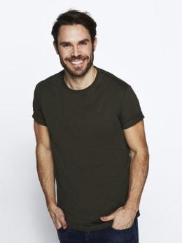 rockford mills t-shirt donkergroen rm010301