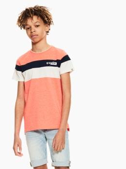 garcia t-shirt oranje p03605