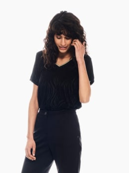 garcia t-shirt zwart p00213