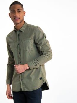 garcia overhemd h91230 groen