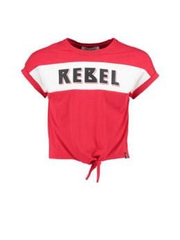 cars t-shirt met opdruk dina rood