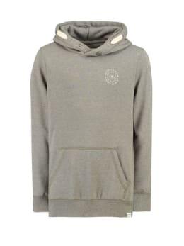 garcia hoodie gs930701 lichtgrijs