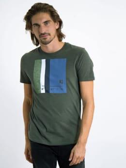 garcia t-shirt met opdruk j91203 groen