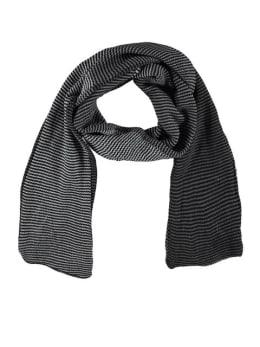sarlini gestreepte sjaal grijs