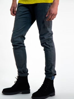garcia slim fit chino h91111 grijs