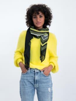 garcia sjaal met veelzijdige print m00130 wit