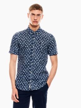 garcia overhemd donkerblauw q01033