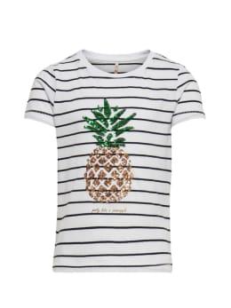 kids only t-shirt met opdruk wit konane life