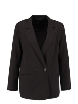 sisterspoint double breasted blazer zwart