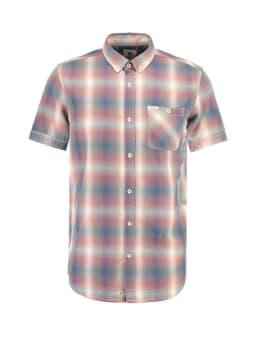 garcia overhemd korte mouwen e91025 rood
