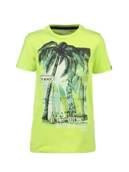 garcia t-shirt neongeel p05407