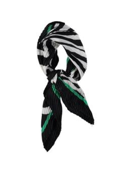 sarlini sjaal met plissé groen