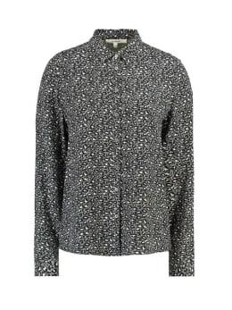 garcia blouse met allover print i90030 grijs
