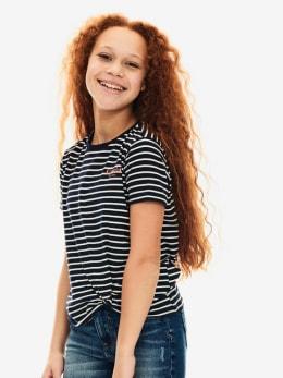 garcia t-shirt ge020355 donkerblauw
