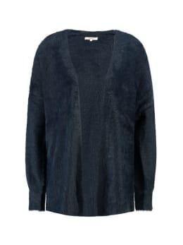 garcia fluffy vest gs900754 blauw