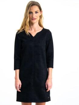 garcia suedine jurk gs900780 zwart