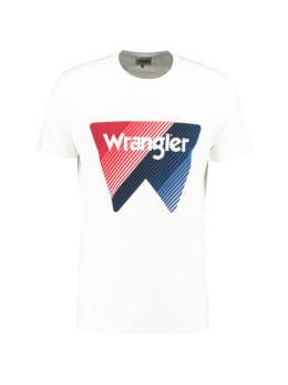 T-shirt Wrangler Box logo tee men