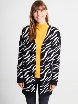 garcia vest met print pg900907 zwart