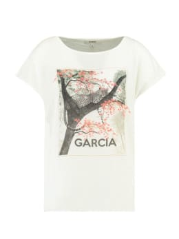 Garcia T-shirt Korte Mouwen D90214 Wit