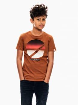 garcia t-shirt bruin t03600