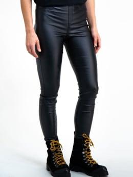 garcia imitatieleer legging gs900723 zwart